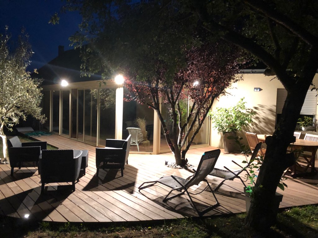 Eclairage De Terrasse Sur Pied les équipements lumineux pour un éclairage fonctionnel et